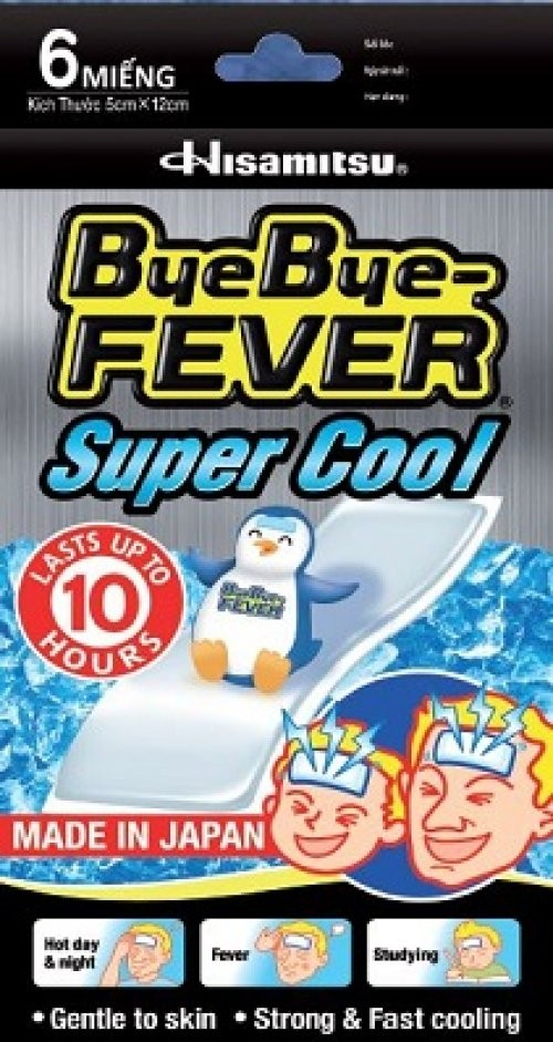 ByeBye-FEVER TM Super Cool