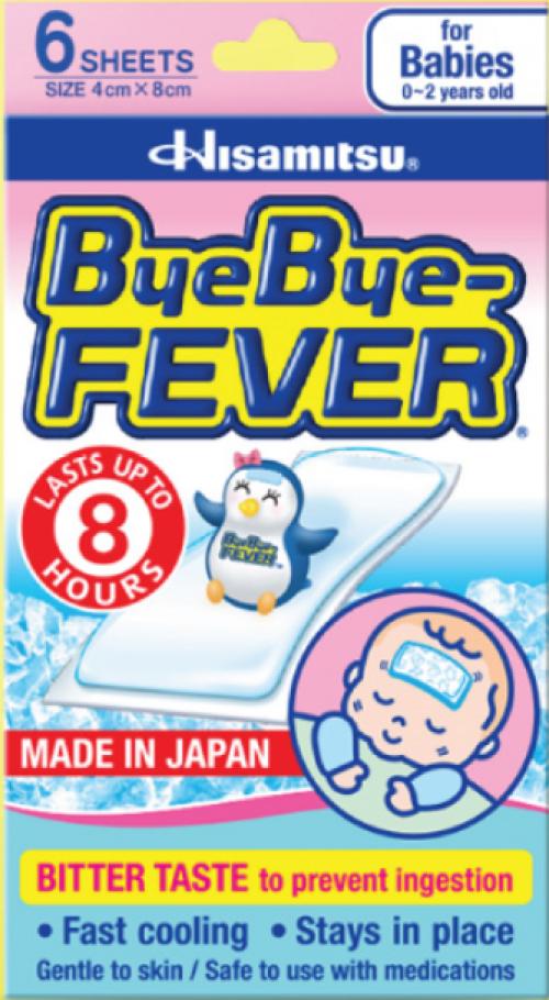 ByeBye-FEVER TM cho trẻ sơ sinh